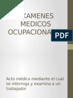 Examenes Medicos
