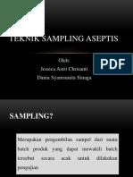 Materi Training Teknik Sampling Aseptis