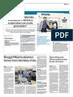 Entrevista de Adolfo Sugai para El Comercio