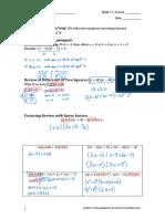 alg1m1l12- equations involving factored expressions