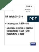JMBZ-QPR-0275R0 - Trein Coord Implant Gantt- SIGA- Diagrama Int Prazos ZEPPELIN SYSTEMS treinamento