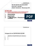 JMBZ-QPR-0323R0-Reciclagem Treinamento ISO 9001 2008- Politica- Indicadores-Procedimentos - Segundo Semestre 2012 ZEPPELIN SYSTEMS treinamento
