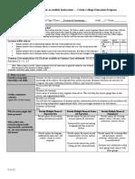 educ 302-303 - calvin lesson plan form  lesson 4