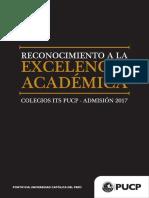 Colegios Alto Rendimiento Universidad Catolica Peru