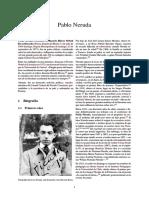Pablo Neruda Poeta Chileno