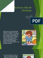 Un día en la vida de Christian      Autor:Jencarlos González