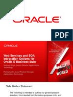 Oracle EBS SOA Perfect Presentation ISG