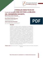 Diseño de Materiales Didácticos, Ponencia CNIE
