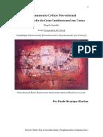 Paulo Henrique Martins_O Pensamento Crítico Pós-colonial e a Radiografia Da Crise