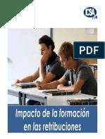 Impacto de La Formacion en La Retribucion Version Presentacion