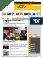 Álvarez Encabeza Lista de 57 Denunciados Por Lavado de Activos _ Justicia _ Política _ El Comercio Peru