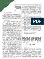 Resolución Ministerial N° 0104-2017-JUS