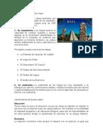 Características Del Pueblo Maya