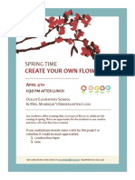 assignment 3 classroom flyer