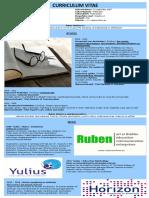 Curriculum Vitae Ruben Arnhem