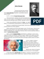 Viața Lui Albert Einstein