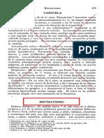 REUMATISMO- VACUNA PONNDORF