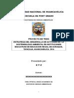 Proyecto de Tesis Doctorado UNH