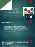 Colorantes Farmacéuticos