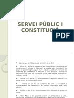 Servei Públic i Constitució