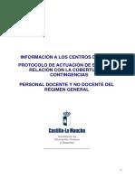 Protocolo SOLIMAT,Centros Docentes