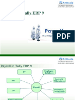 Payroll Introduction in Tally ERP9