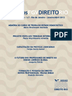 Ensinar e Fazer DireitoCadernos FGV Direito Rio - Vol. 7