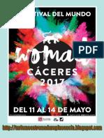 Womad2017, programa para disfrutar desde Plasencia