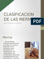 Clasificacion de Las Mermas