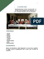 Guion Teatral La Ultima Cena