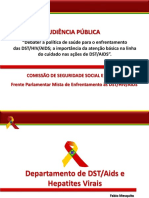 Enfrentamento Às DST HIV AIDS