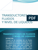 Transductores de Fluidos