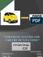 Strategic Success and Failure of Tata Nano