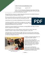 Sigma Delta Tau's Annual Philanthropy Event