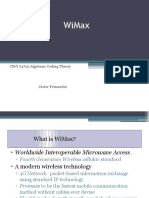 Intro to  WiMax