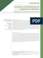 Farmacocinética e farmacodinâmica do misoprostol em Obstetrícia.pdf