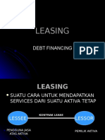 Menkeu Leasing