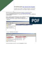 Manual de Instalação SQL Server 2012 Express