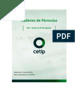 Caderno Formulas TDAs Cetip