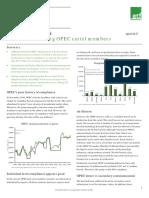 ETFS Outlook - Little Honor Among OPEC Cartel Members