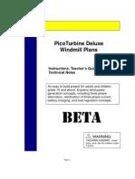 Pico Turbine Plan