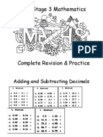 KS3 Maths Complete Revision Practice Worksheets