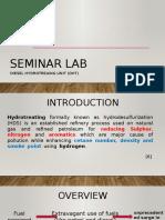 Seminar Lab Final