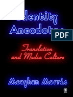 Meaghan Morris-Identity Anecdotes_ Translation and Media Culture (2006)