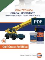Grasa Asfaltica GULF EP 2