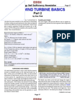 Small Wind Turbine Basics 2