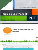 Guía Para Utilizar Kahoot