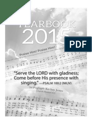 Yb2015 Pdf Biblical Sabbath Seventh Day Adventist Church