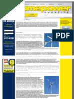 Wind Electricity Basics