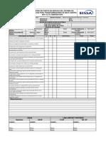 RG-106 Registro de Puesta en Servicio Del Sistema